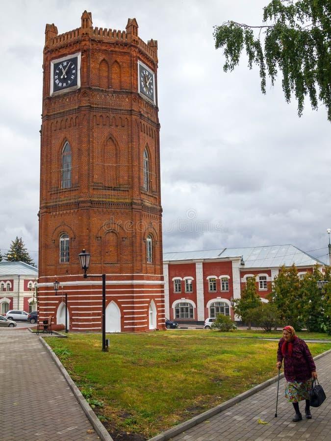 Elec Vecchia torretta di acqua I carillon di Elec sono fotografia stock