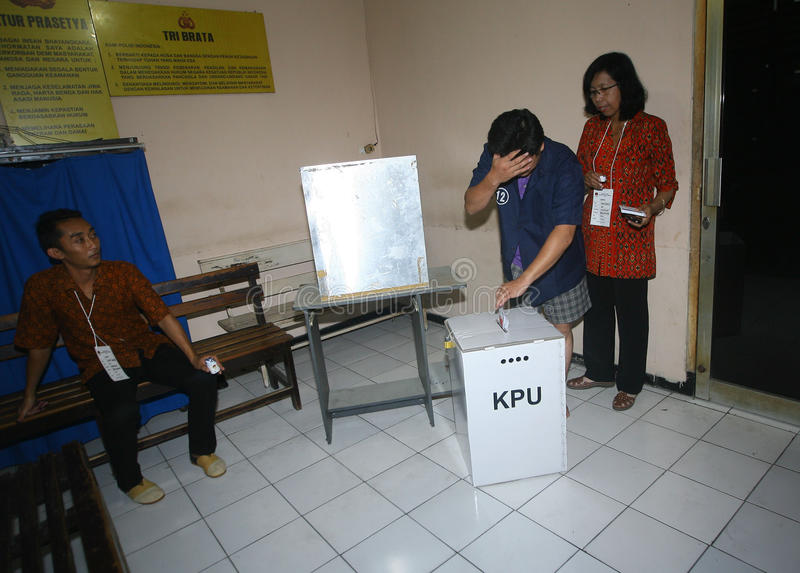 Download Elección fotografía editorial. Imagen de votado, indonesia - 42432977