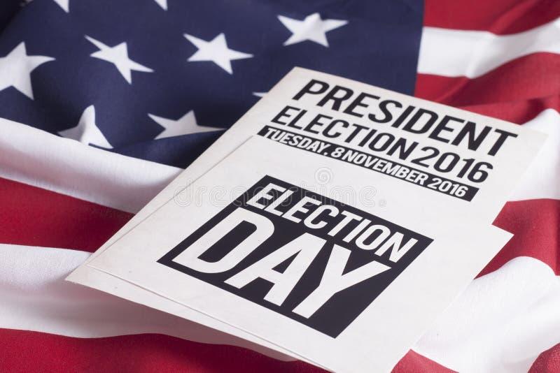 Elección 2016 fotografía de archivo