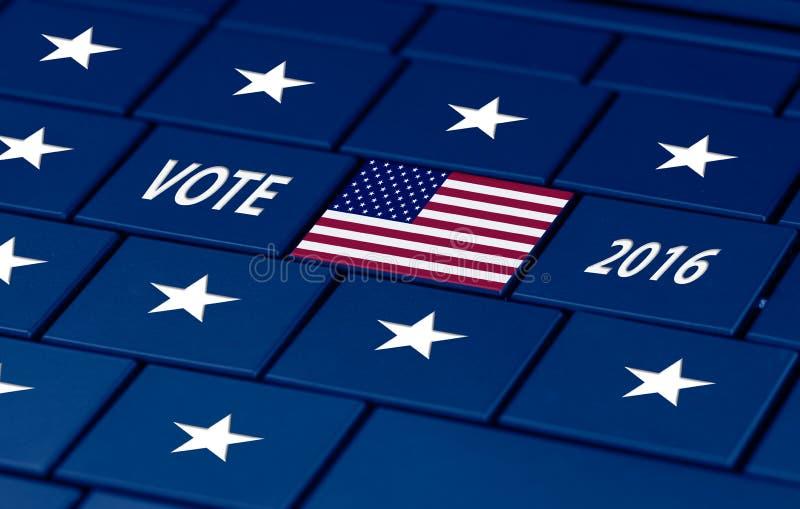 Elección de los E.E.U.U. el otoño próximo imagenes de archivo
