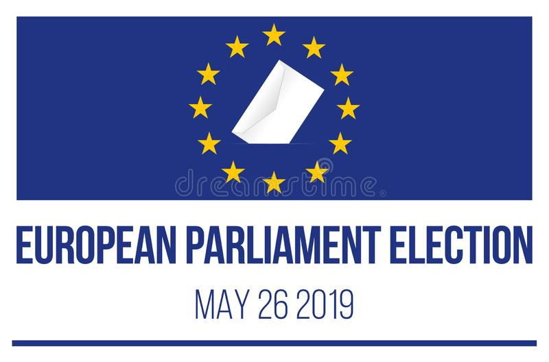 Elección del Parlamento Europeo 2019 libre illustration