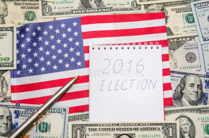 Elección presidencial 2016 foto de archivo