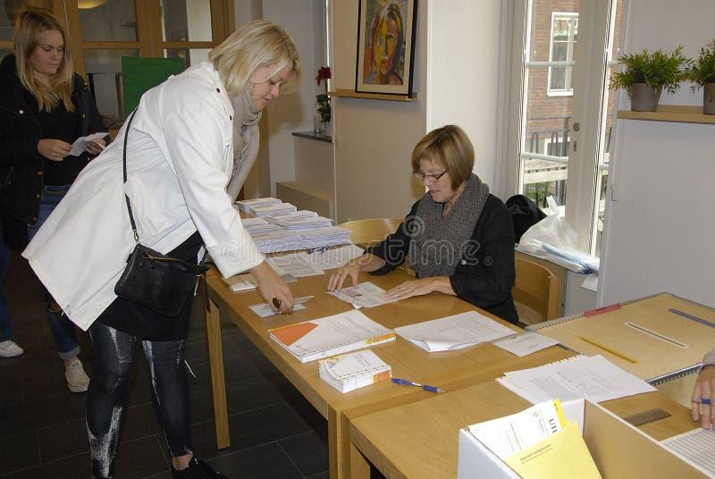 ELECCIONES DE SWEDEN_SWEDES fotos de archivo