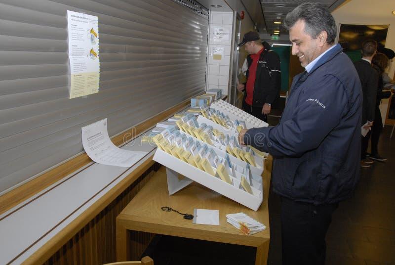 ELECCIONES DE SWEDEN_SWEDES foto de archivo libre de regalías