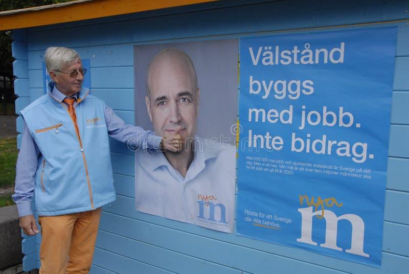 ELECCIONES DE SWEDEN_SWEDES imagen de archivo libre de regalías