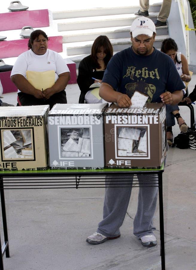 Elecciones en México fotos de archivo
