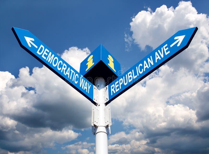 Download Election choice stock illustration. Image of democrat - 26871452