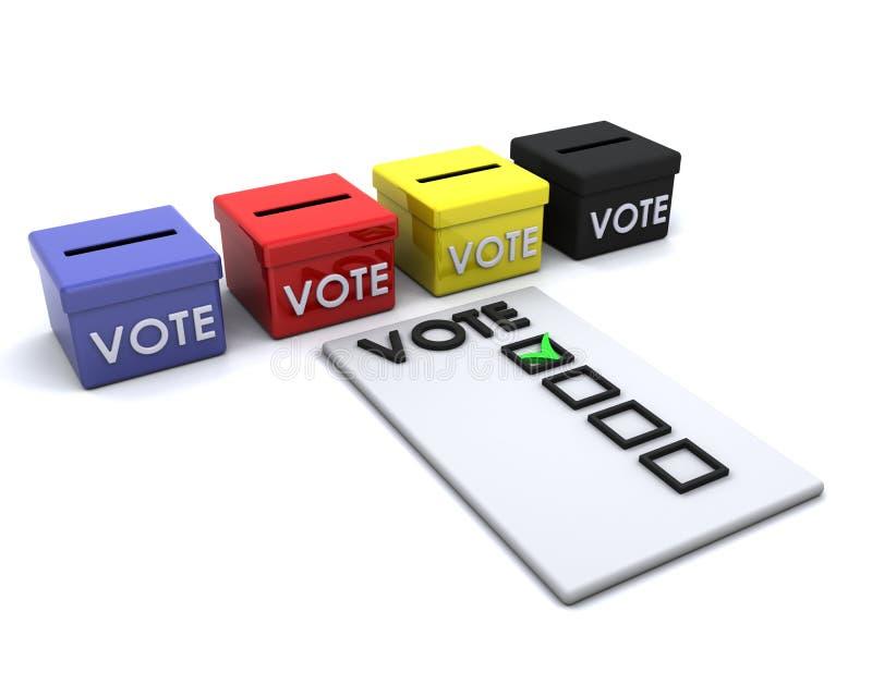 Election Day Ballot Box Royalty Free Stock Photos