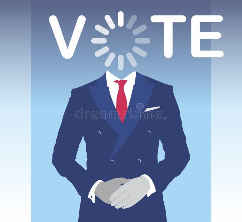 Vote royalty free illustration