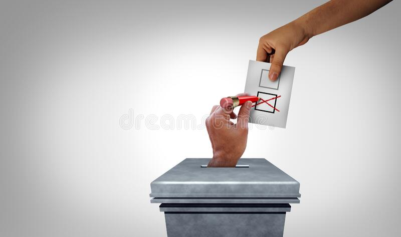Election Fraud royalty free stock photos