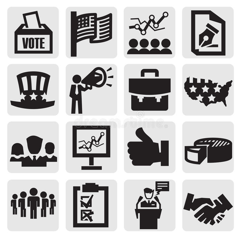 Download Election icons stock vector. Image of election, debate - 26784452