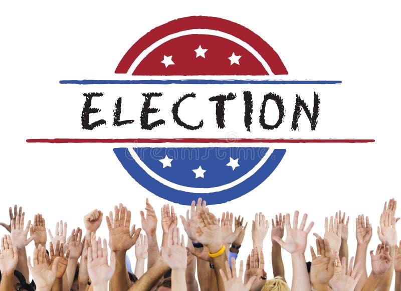 Election Vote Democracy Referendum Graphics Concept stock photos