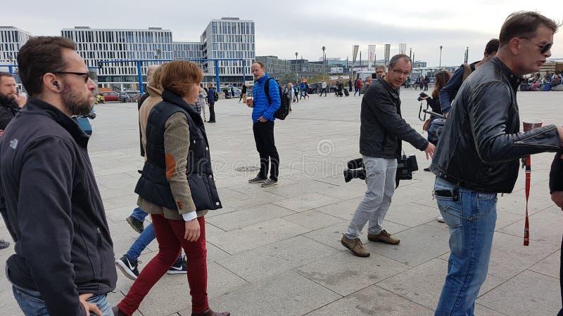 Alternative Deutschland senator. Elections Germany 2017 berlin Storch stock photography
