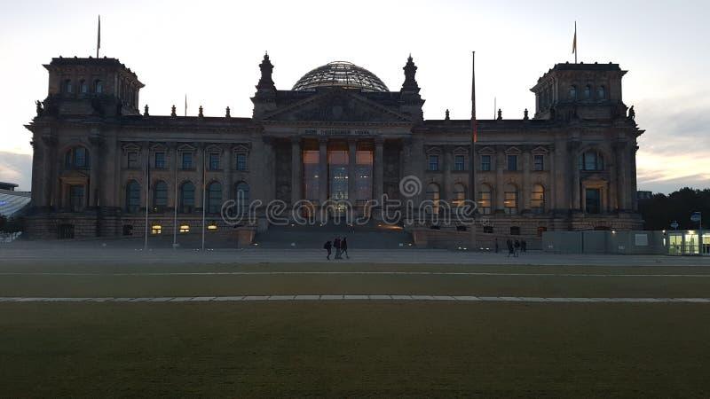 Reichstag Deutschland parties stock image