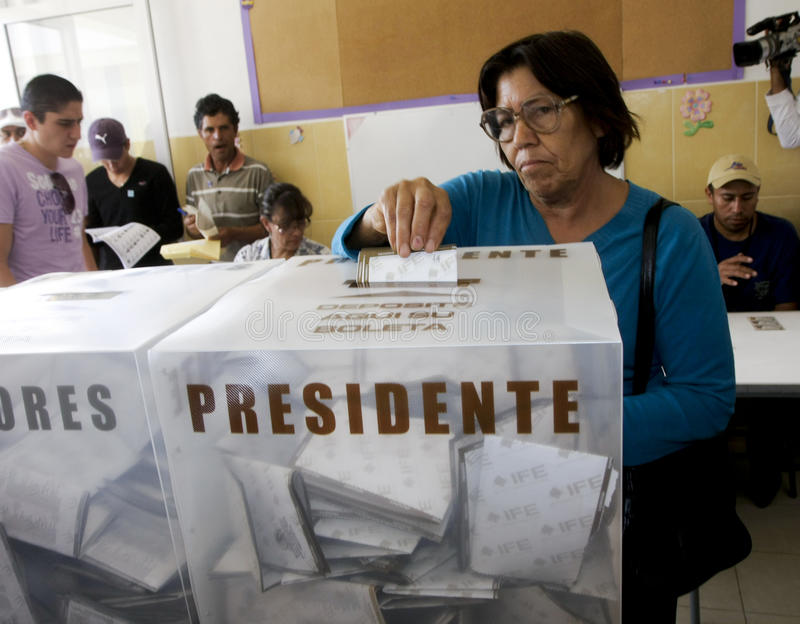 Elections in Mexico royalty free stock photography