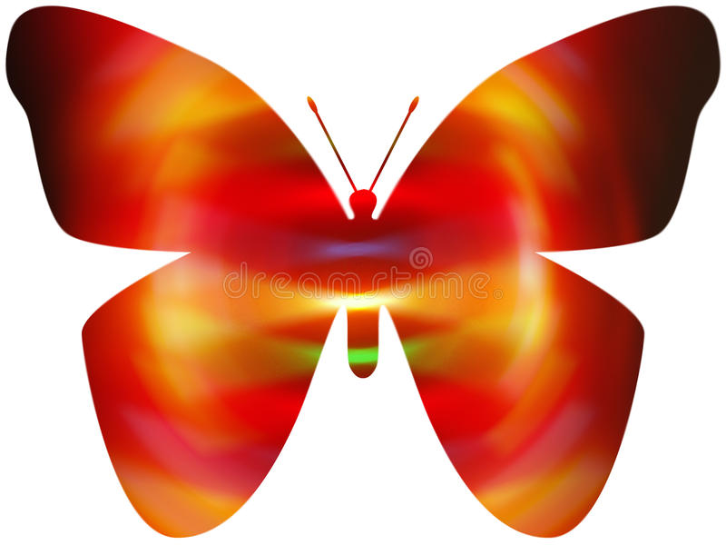 Electirc Butterfly Royalty Free Stock Photos