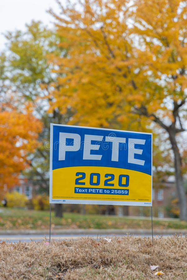 Electoral Campaign Signs stock photos