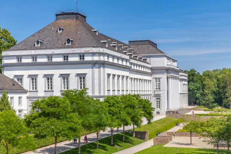 Electoral Palace Koblenz and gardens Germany royalty free stock image