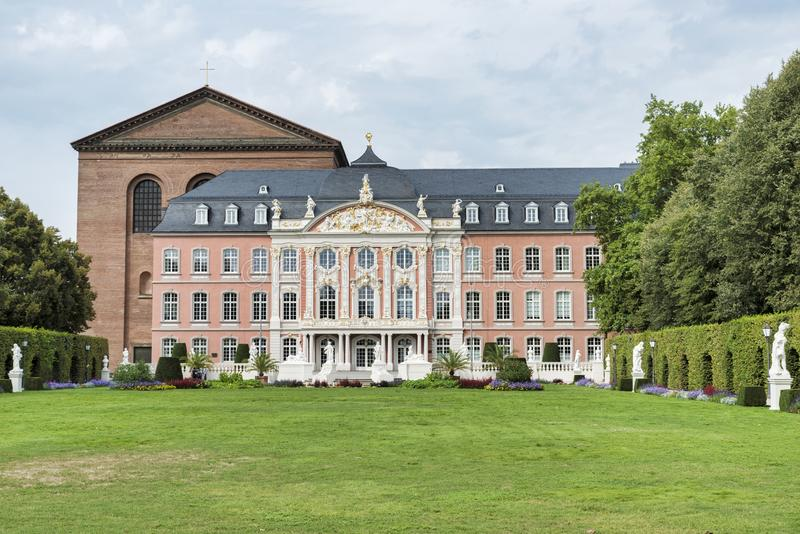 The Electoral Palace in Trier i stock photos