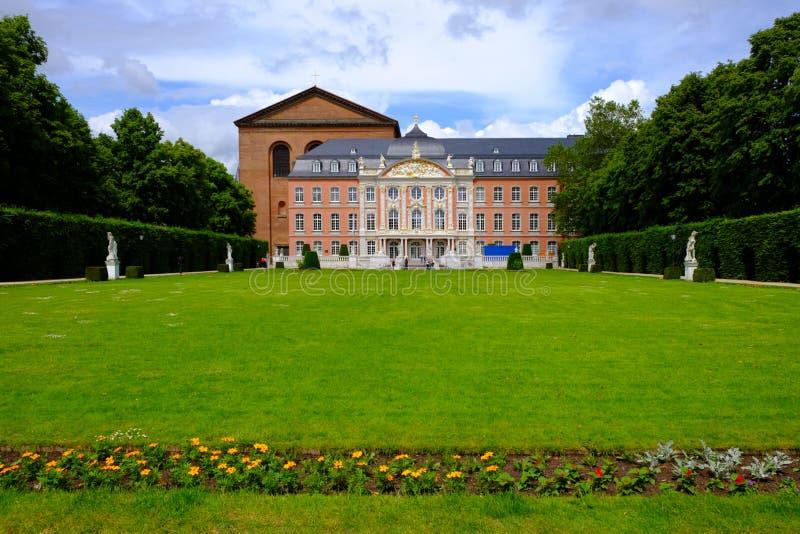 Electorial slott i trieren, Tyskland fotografering för bildbyråer