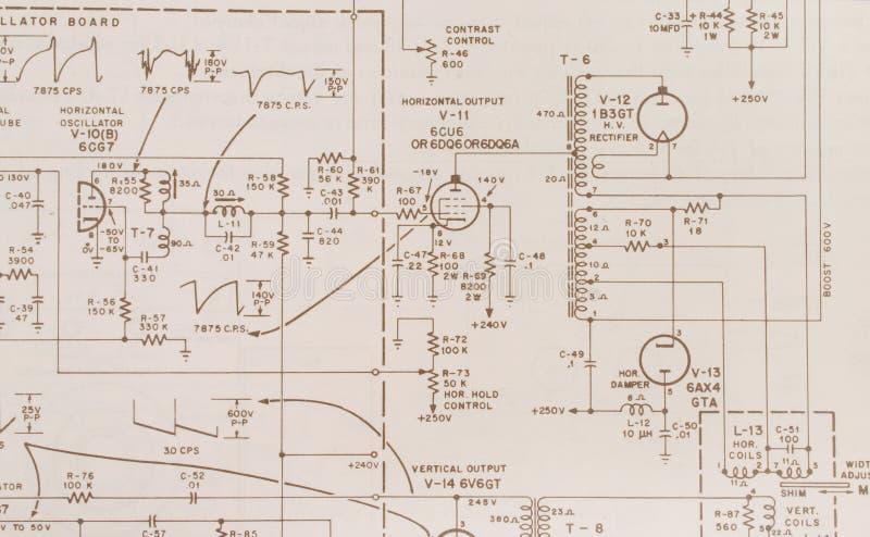 Electrónica imagen de archivo