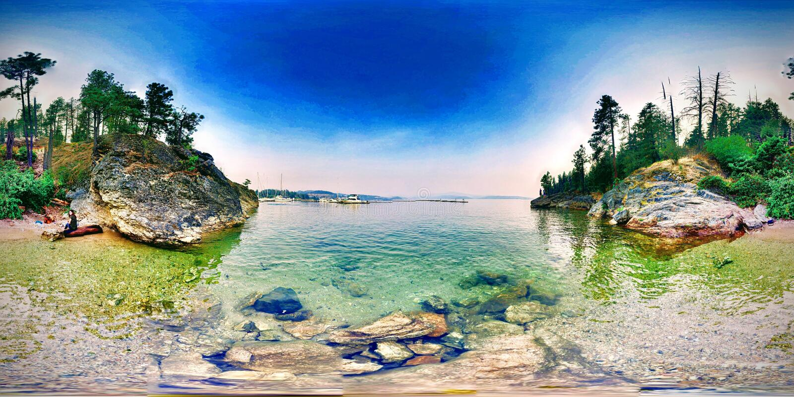 Electra Lake Love 360 stockbilder