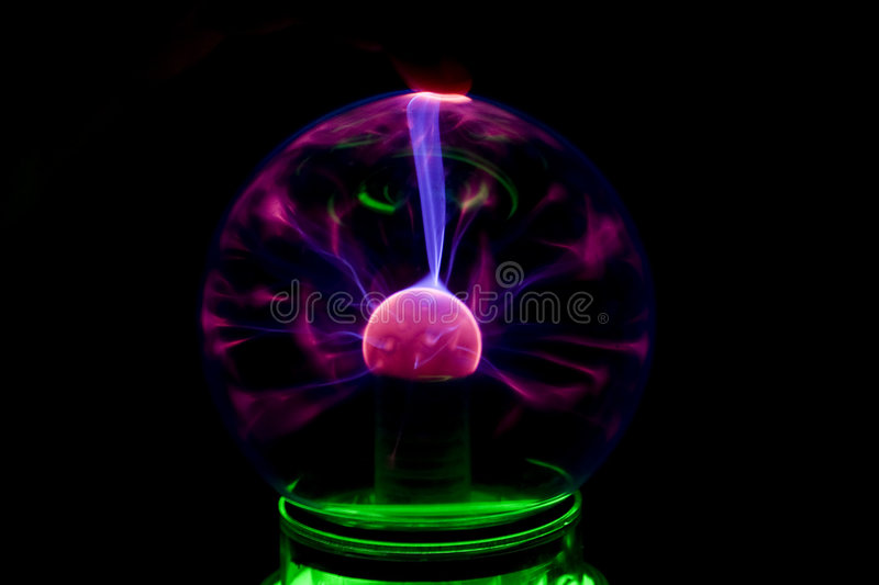 Electric ball royalty free stock photo