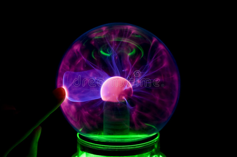 Electric ball royalty free stock photography