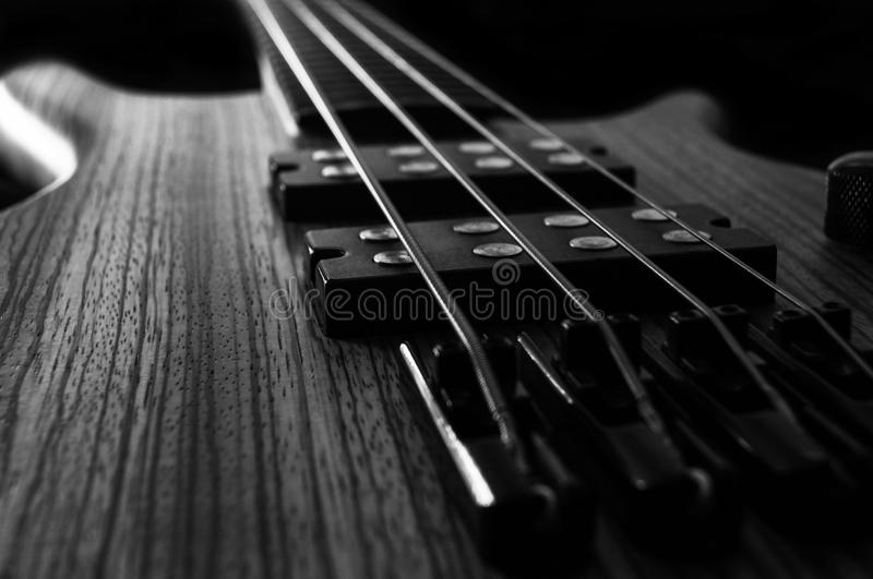 Rock Bass Guitar royalty free stock photos