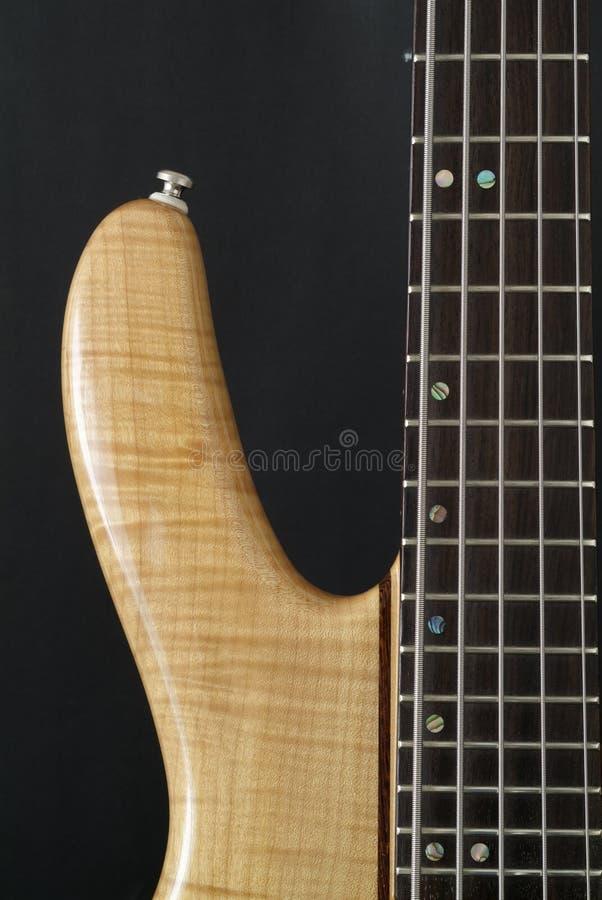 Electric bass guitar stock photos
