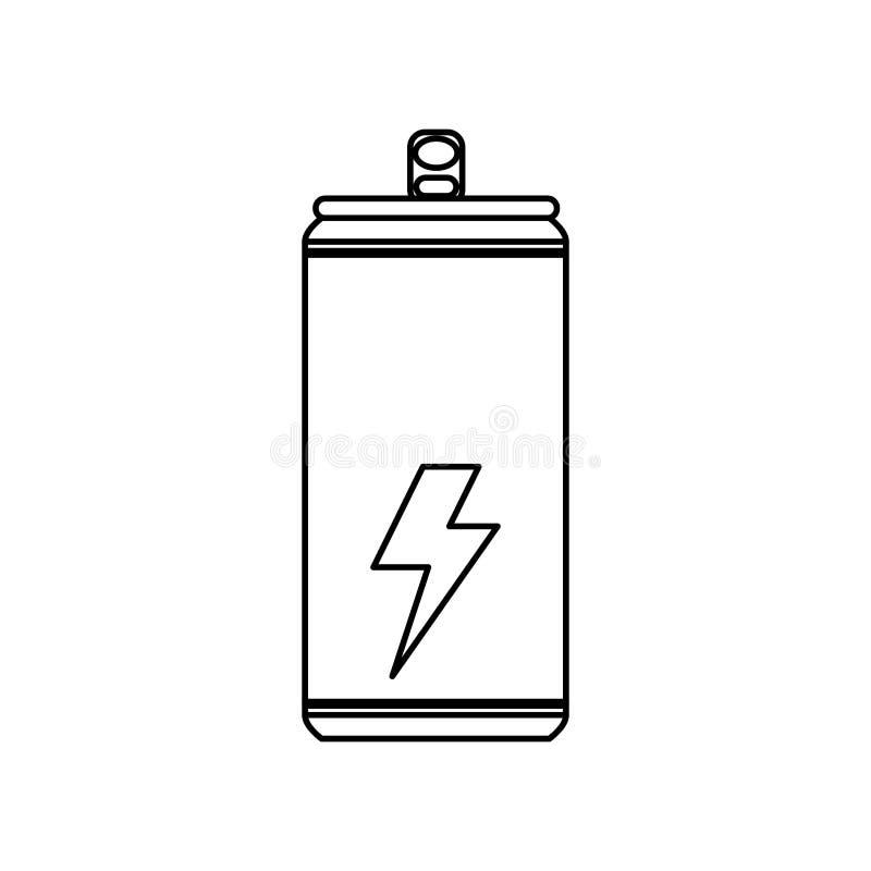 Electric battery symbol stock illustration. Illustration of recharge ...