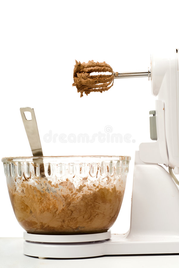 Electric Beater With Bowl royalty free stock photo