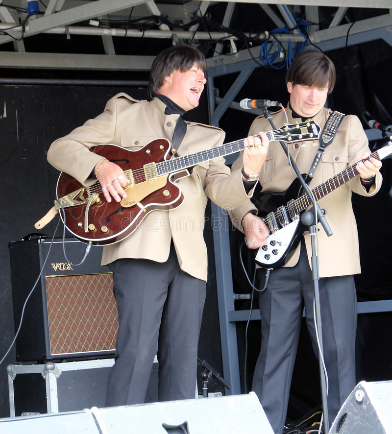 Electric beatles pop concert royalty free stock images