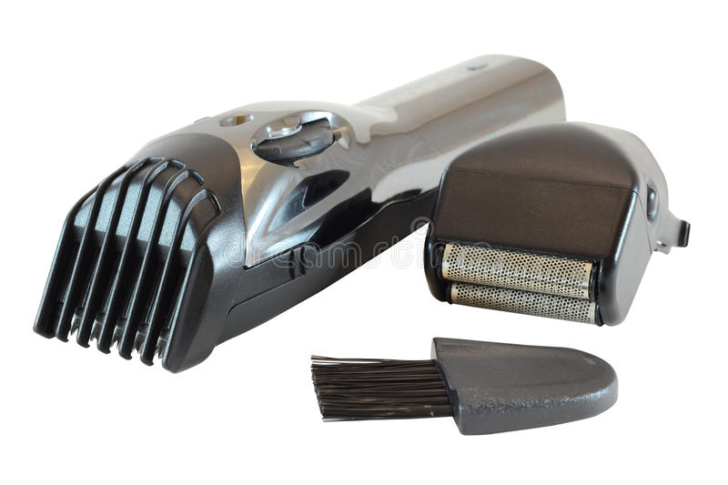 Electric body trimmer royalty free stock photography