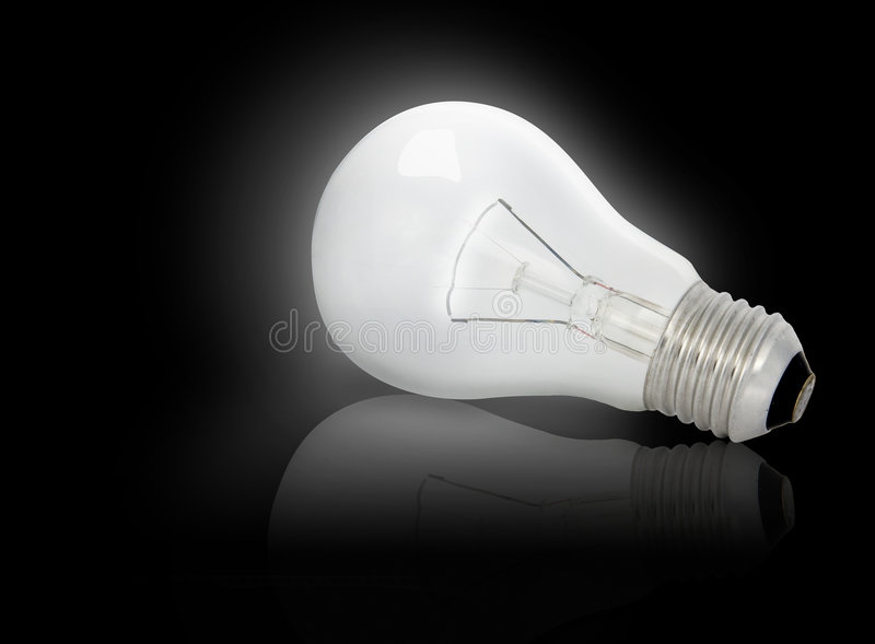 Electric Bulb stock image