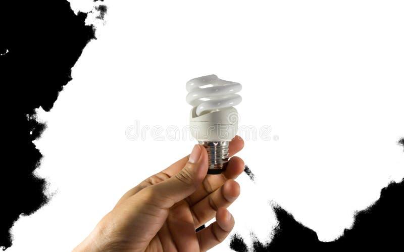Electric bulb royalty free stock photos