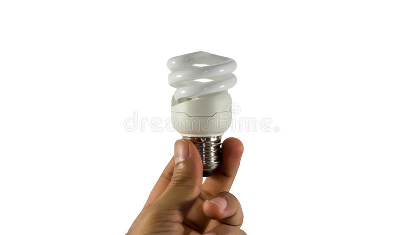 Electric bulb stock photo