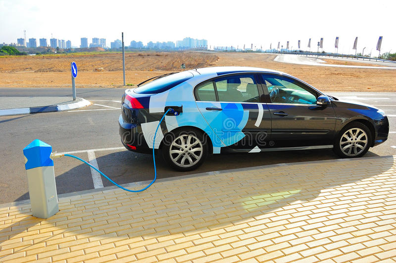 Download Electric Car editorial photography. Image of engineering - 18103487