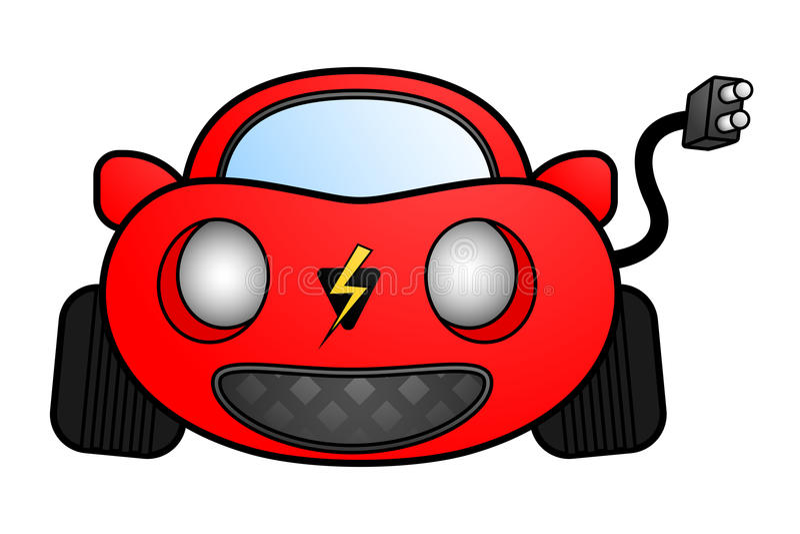 Download Electric car stock vector. Image of motor, environmental - 23532038