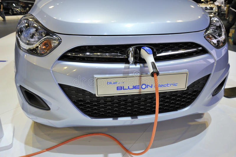 Download Electric car charging editorial photography. Image of concept - 22174927