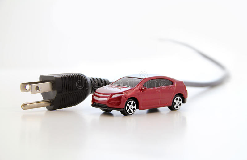Electric Car Concept Royalty Free Stock Photography