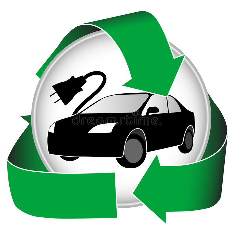 Free Electric Car Icon Stock Photos - 6567253