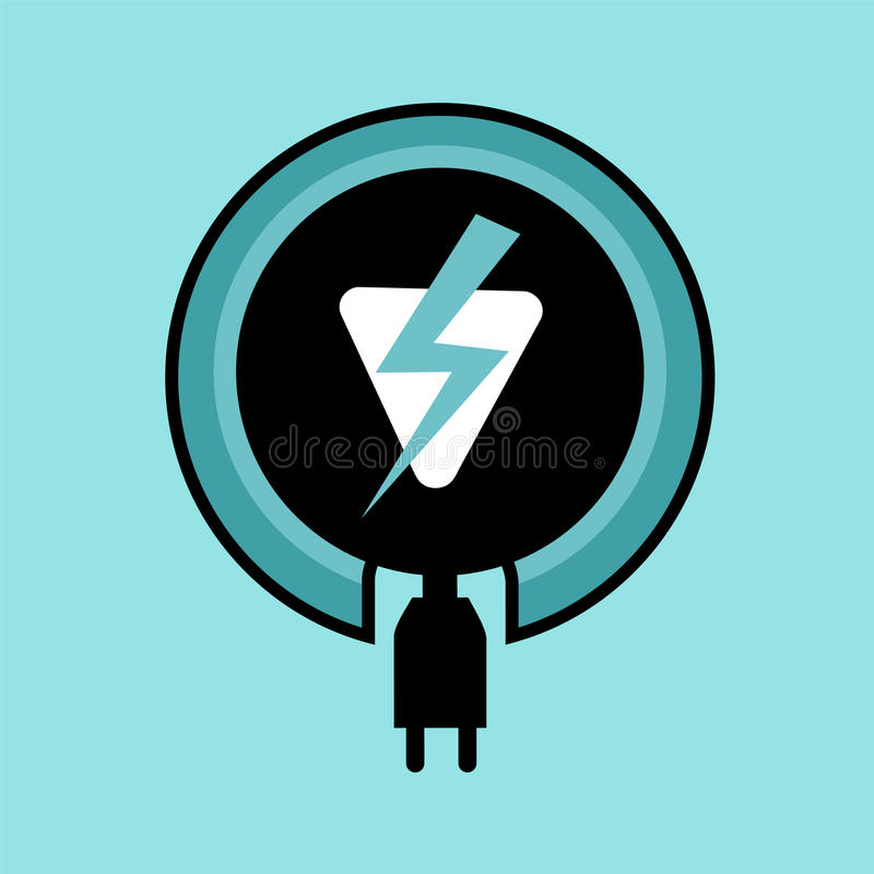 Electric Charge Symbol Stock Vector Illustration Of Shock 90627097