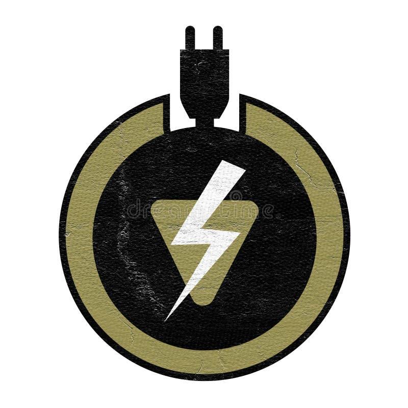 Electric Charge Symbol Stock Illustration Illustration Of