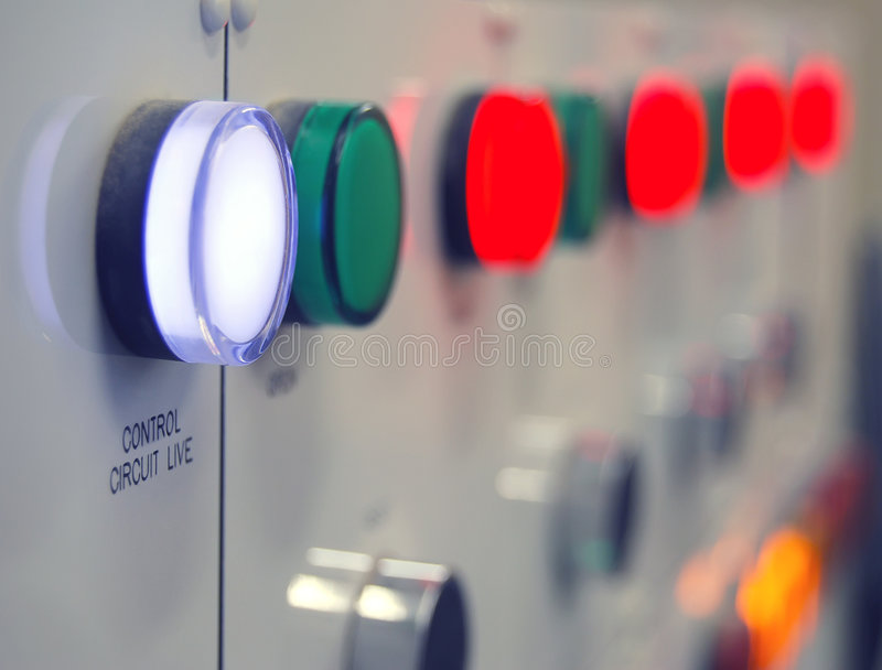 Electric circuit stock photography