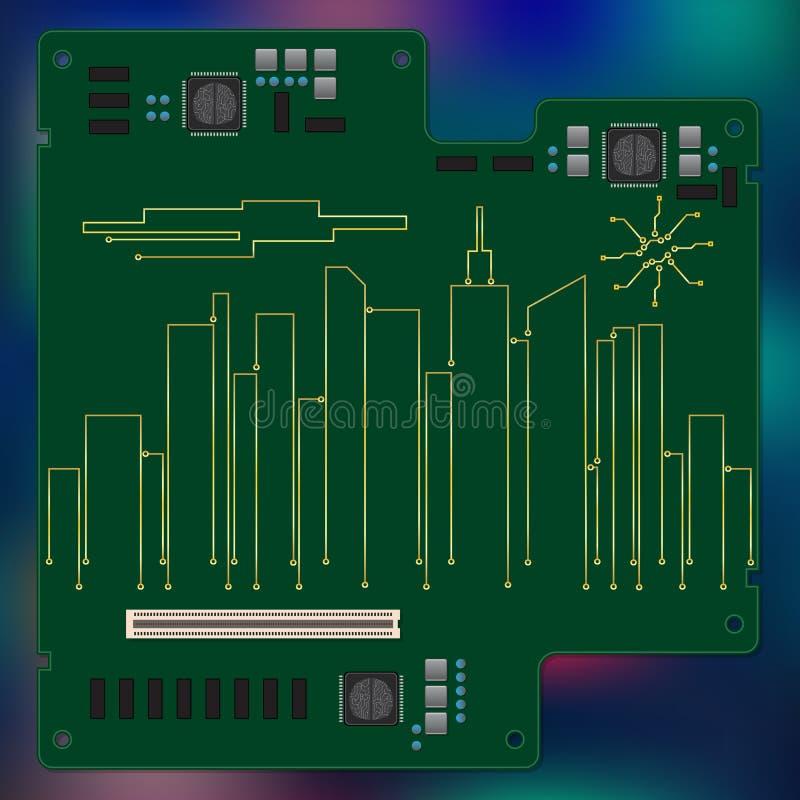 Electric_city бесплатная иллюстрация