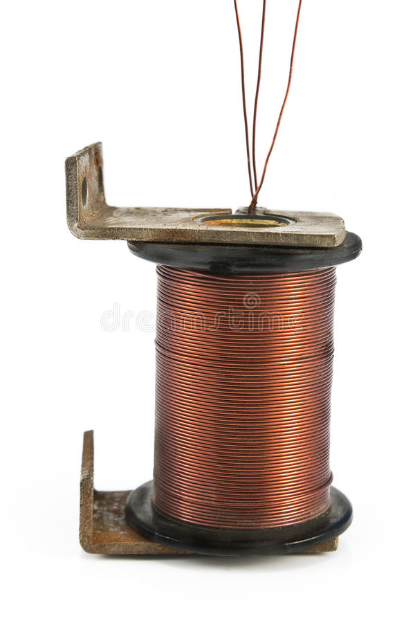 Download Electric Coil Motor Royalty Free Stock Images - Image: 25103819