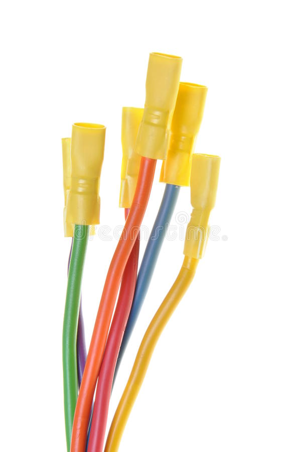Download The Electric Colored Wires Royalty Free Stock Images - Image: 30224629