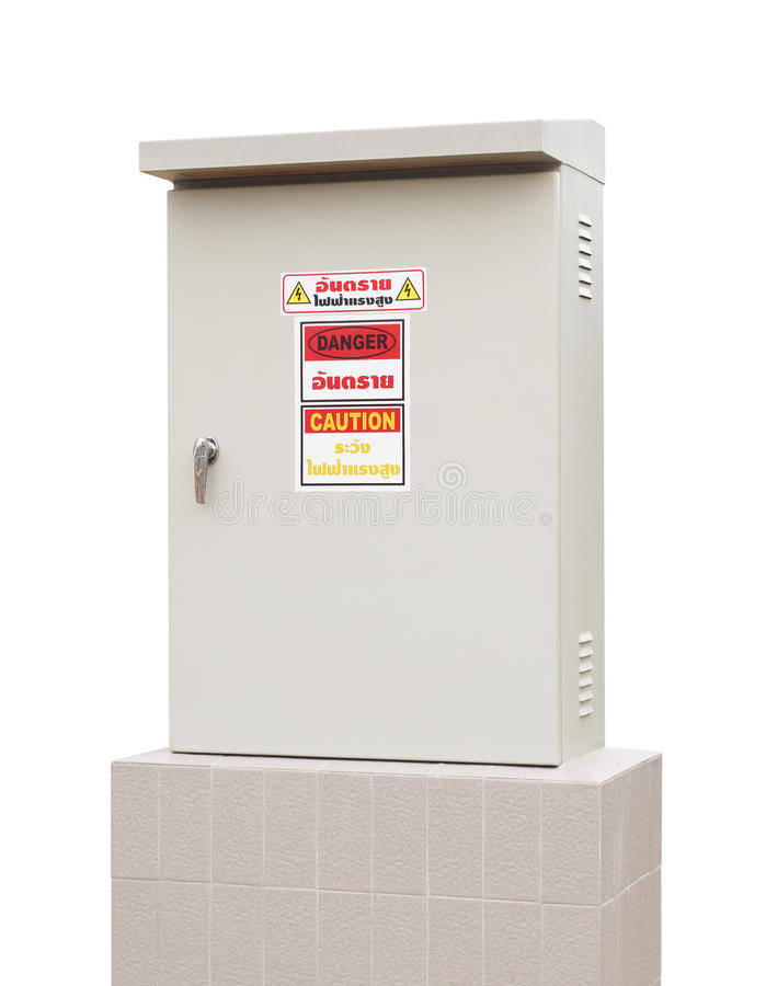 Download Electric control box stock image. Image of industrial - 25112887