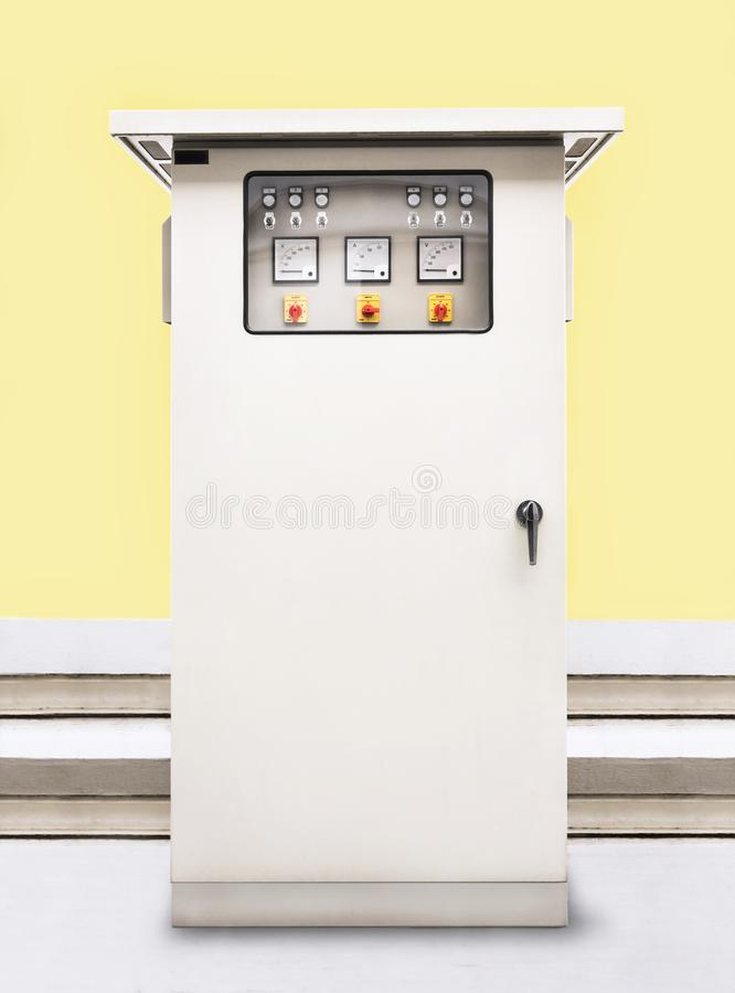 Electric Control Panel Enclosure With Buttons And Control Switch ...